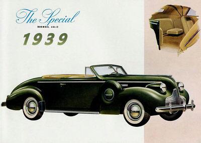 1940 Buick 4 door Convertible Refrigerator Magnet B/&W Factory Picture