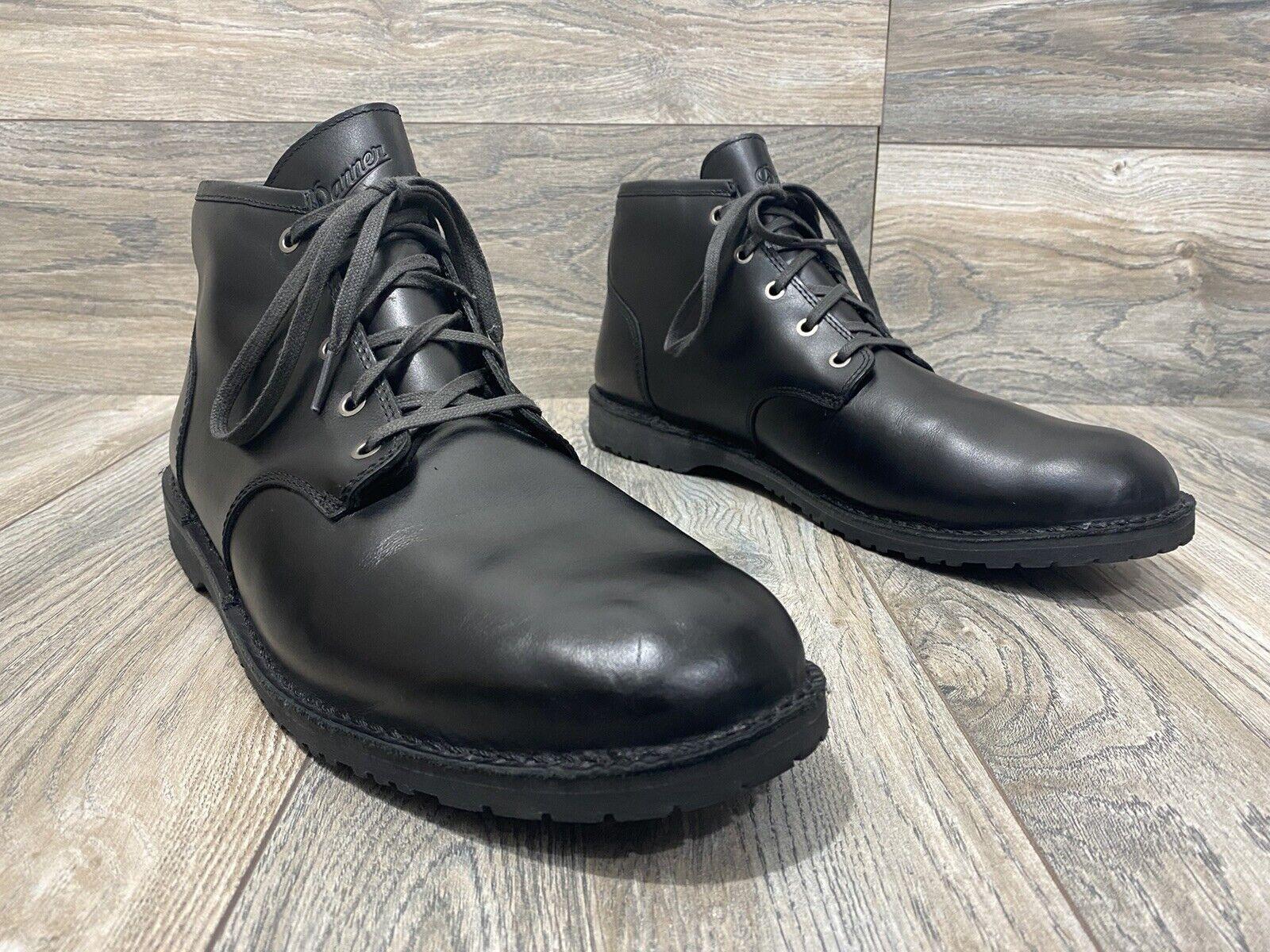 Danner Men's Wolf Creek Chukka Black Leather Boots | Size 13 | Comfort/Hiking