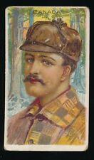 1910 T113 Sub Rosa Cigarros (Fac 129) TYPES OF NATIONS -Canada *Tough Back*