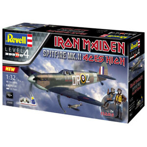 Revell-Iron-Maiden-Aces-High-Spitfire-MK-II-Plane-Model-Kit-Scale-1-32-05688