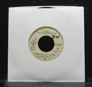 Prince-I-Wanna-Be-Your-Lover-My-Love-Is-Forever-VG-7-034-Vinyl-45-WBS-49050