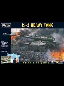 28mm-Warlord-Games-Bolt-Action-Russian-IS-2-Heavy-Tank-BNIB-WWII-skirmish