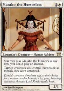 White Champions of Kamigawa Mtg Magic Rare 1x 1 PLAYED Konda Lord of Eiganjo