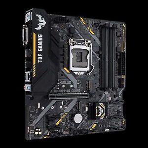 ASUS Intel LGA 1151 mATX Gaming Motherboard With Aura Sync RGB LED Lighting  DDR