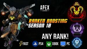 Apex legends Masters Pred Boost | ANY CONSOLE| ANY RANK / PS4 / XBOX / PC