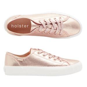holster shoe, vegan, metallic, lace up
