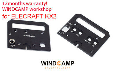 ELECRAFT KX2 Protective Shield kit//Handles//panels Cover case