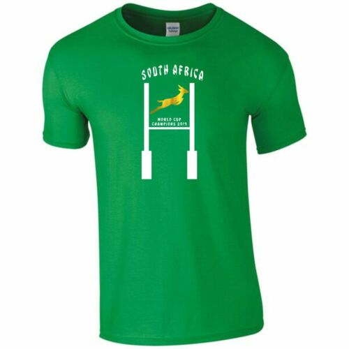 South Africa Rugby 2019 World Cup Winners Post Design T-Shirt Mens