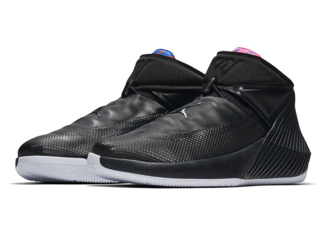 super popular fa4e1 cd231 NIKE AIR JORDAN WHY NOT ZERO.1 BLACK PINK RUSSELL WESTBROOK BASKETBALL SHOES