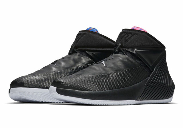 541ad1b91556 NIKE AIR JORDAN WHY NOT ZERO.1 BLACK PINK RUSSELL WESTBROOK BASKETBALL SHOES