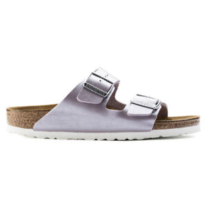 Birkenstock Arizona Birko-Flor Sandals - Narrow Women's  Graceful Orchid