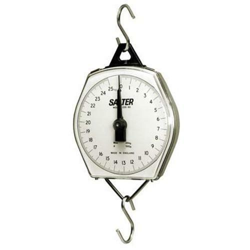 Salter Brecknell 235-6S-220 Mechanical Hanging Scales 220 lb x 1 lb