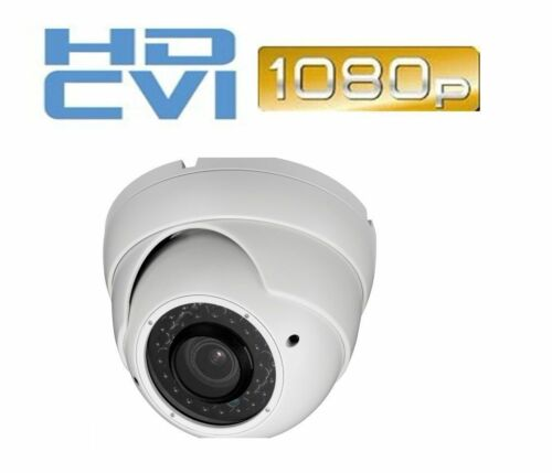 2MP HDCVI Dome CCTV Camera 1080p CVI 2.8-12mm Lens 36IR LED Compatible w// Dahua