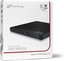 MASTERIZZATORE ESTERNO PORTATILE SLIM HITACHI LG GP57EB40 CD DVD USB 2.0