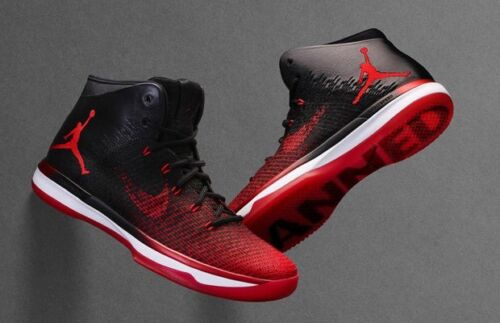 1 Rojo Prohibido 001 Air Sz Retro 31 5773112823410 13 Bred Og 845037 Negro Blanco Nike Xxxi Jordan wzYSqp