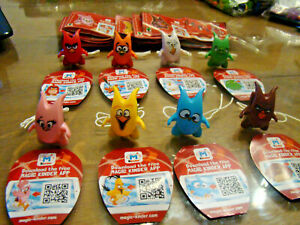 U-Ei-Angry-Birds-Russland-Crazy-Frinds-SE742-SE742G-Komplett-mit-allen-BPZ