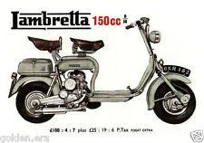 LAMBRETTA INNOCENTI - Collectors Card Set - TV175 D 150cc GT200 150LD Li models