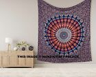 Indian Tapestry Wall Hanging Mandala Bedding Bedspread Queen Size Throw Blanket