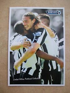 Barclays Premiership A5 Postcard  Carroll  Newcastle - Fareham, United Kingdom - Barclays Premiership A5 Postcard  Carroll  Newcastle - Fareham, United Kingdom