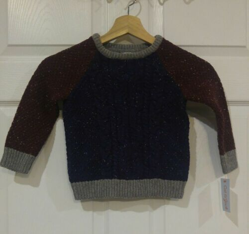 Boys Cat and Jack Sweater Pullover NWT Size 3T