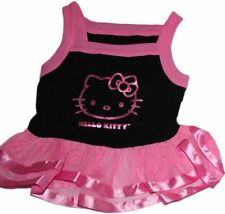 Hello Kitty Ballerina Dress Tulle Tutu Skirt Tee Bodice Comfortable Pink Black