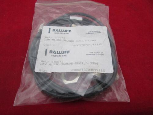 Balluff  BAW M18ME-UAC50B-BP00-GS04 115571 Inductive Sensor