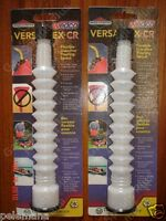 2 Versaflex Cr Flexible Pouring Gas Can Spout Wedco Briggs Stratton Discontinued