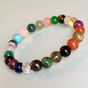 Image Is Loading Ultimate Fertility Bracelet Ivf Conception Pregnancy Crystal Healing