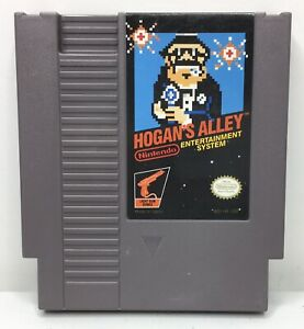 Nintendo-NES-Hogan-s-Alley-Light-Gun-Game-Cartridge-Authentic-Cleaned-Tested