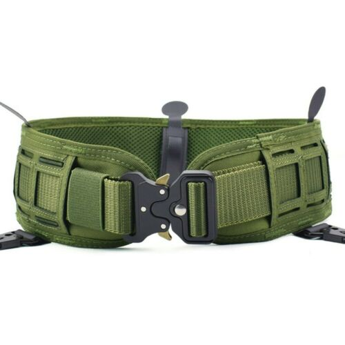 Tactical Nylon Duty Belt Gepolsterter Molle-Taillengürtel-Kampfbund Waist Belt