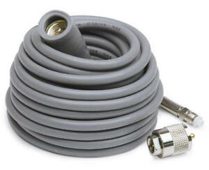 Details about K-40 Coax Cable w/Rubber Boot and FME end for easy  install High Quality RG-8X