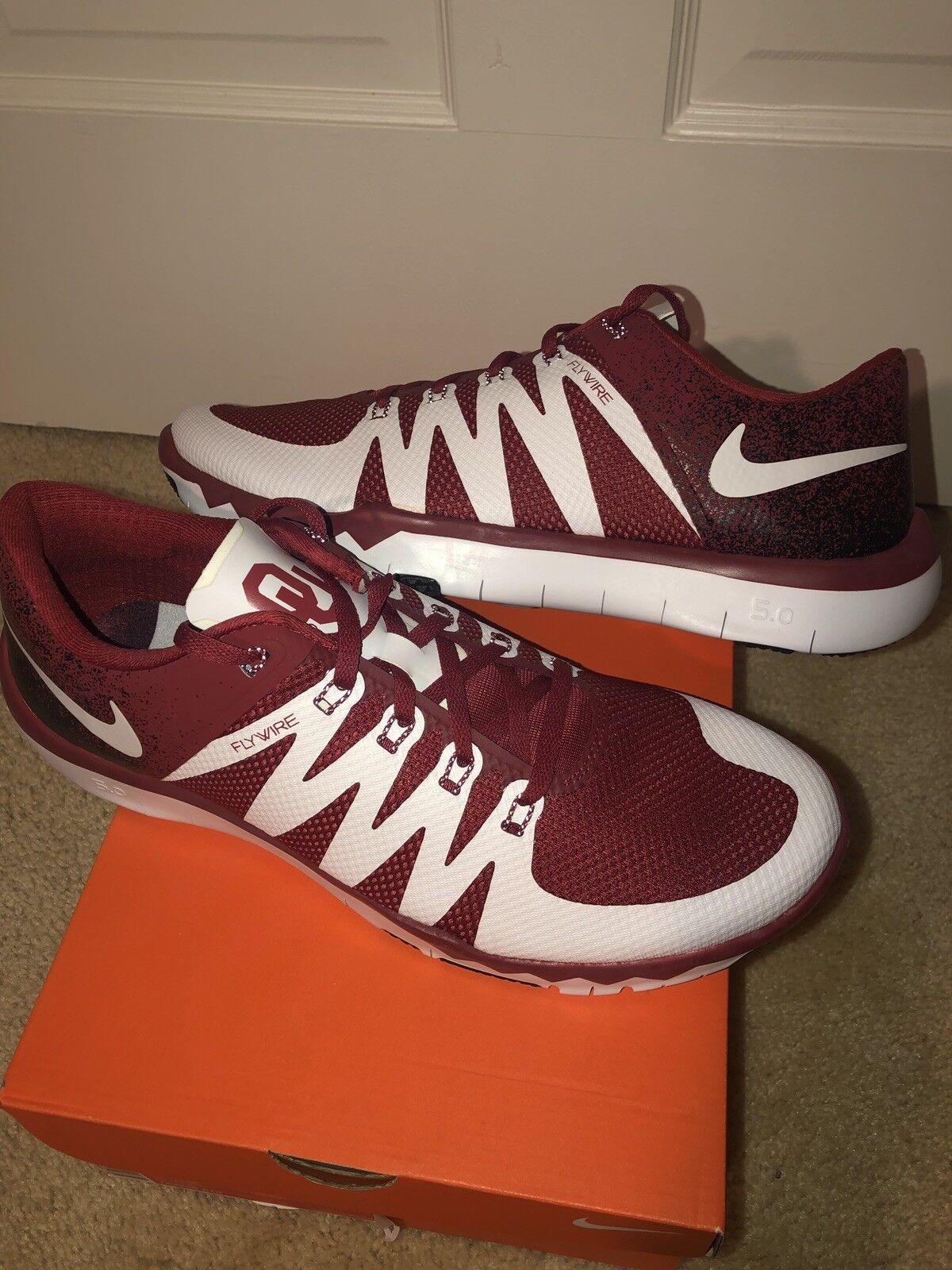 Nike Nike Nike Oklahoma Sooners Free Trainer 5.0 DS 11.5 28567c
