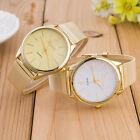 GENEVA Womens Watch Ladies Crystal Gold Mesh Band Wrist Watches Reloj de mujer