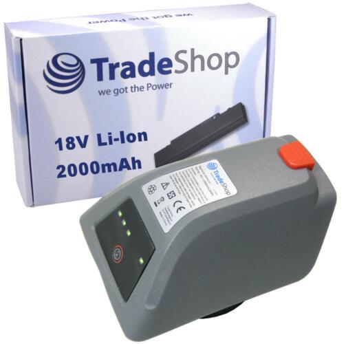Trade-shop Batterie 18v 2000mah Li-Ion remplace Gardena 008a231 pour Gardena 8025-20