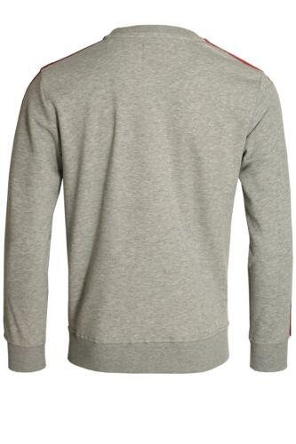 Herenhemd Alpha getaped met Industries overhemd Sweattop Rbf hals grijs ronde IwqIP1r