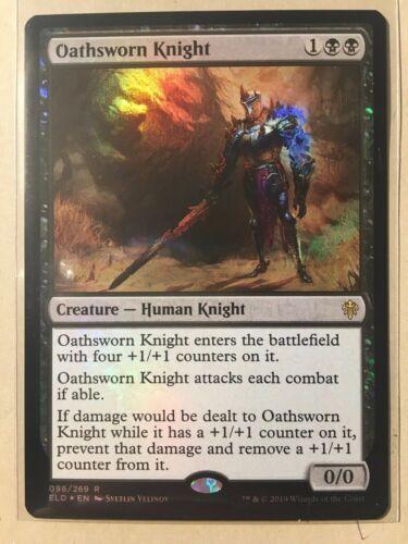 MTG Throne of Eldraine **FOIL** Oathsworn Knight  Rare NM//M 98//269