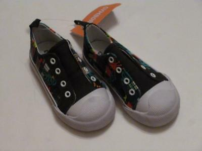 GYMBOREE BARKSIDE ACADEMY MULTI COLOR PLAID SLIP ON SNEAKERS 03 04 5 6 7 8 NWT
