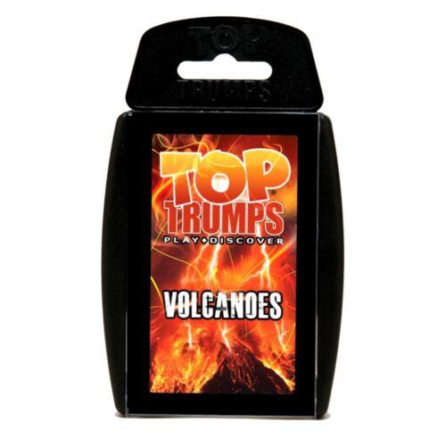Vulcani TOP TRUMPS Carte da gioco