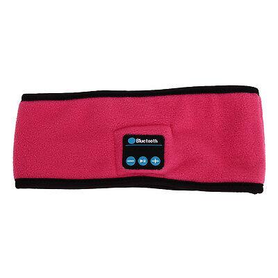 Wireless Bluetooth Stereo Headphone Handsfree Sleep Headset Sports Headband Mic