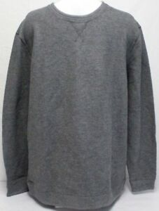 NWT Island Sands Men/'s Long Sleeve Reversible Crew Neck Sweater PICK SIZE New