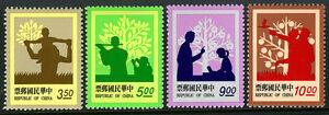 China Taiwan 2911-2914, MNH. Parent-Child Relationship, 1993