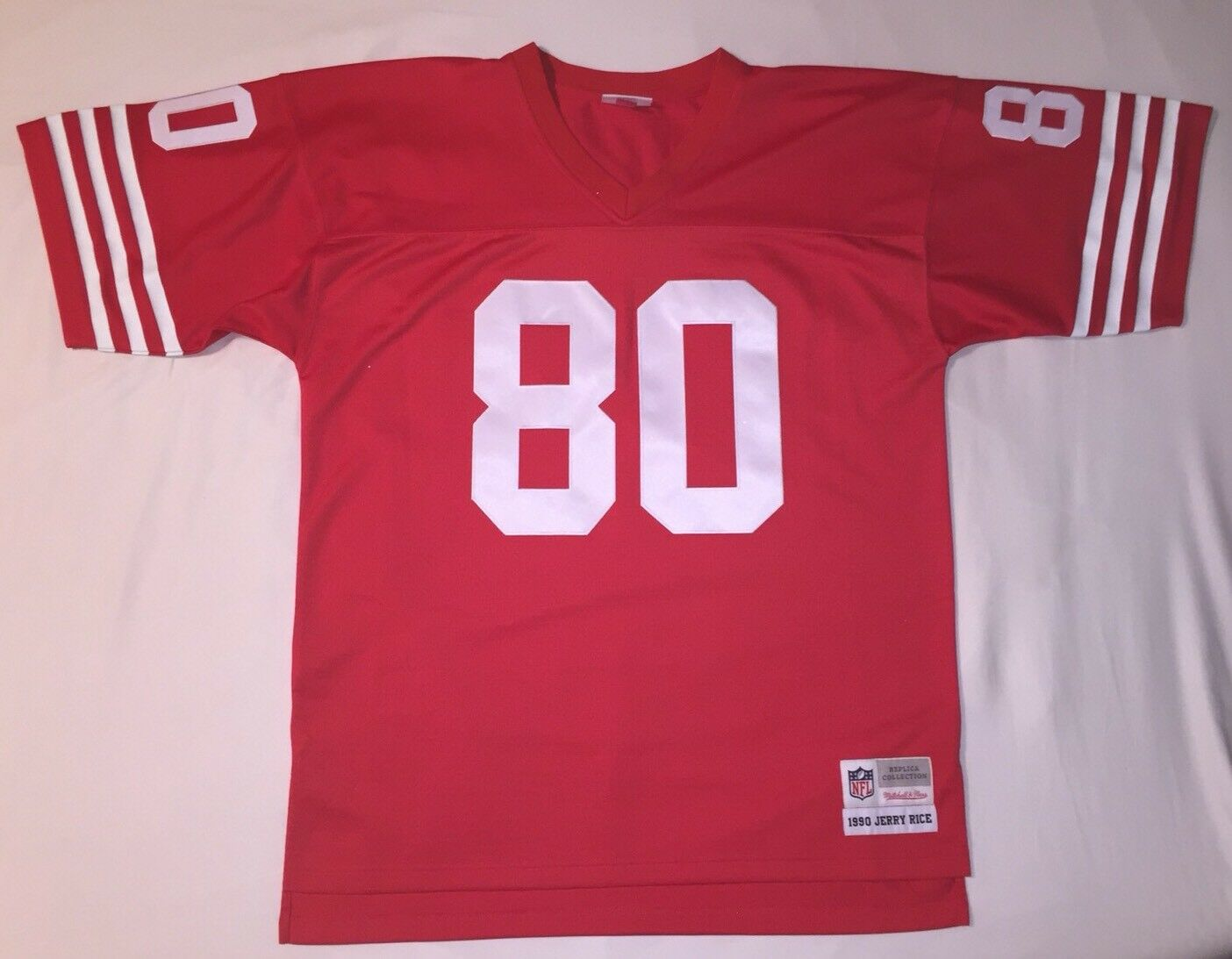 Mitchell And Ness Jerry Rice 80 1990 Replica Collection San Francisco 49er's ROT