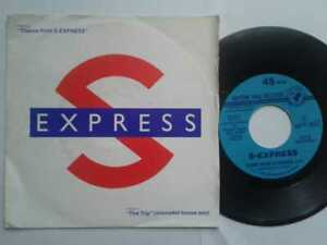 S-Express-Theme-From-S-Express-7-034-Vinyl-Single-1988-mit-Schutzhuelle
