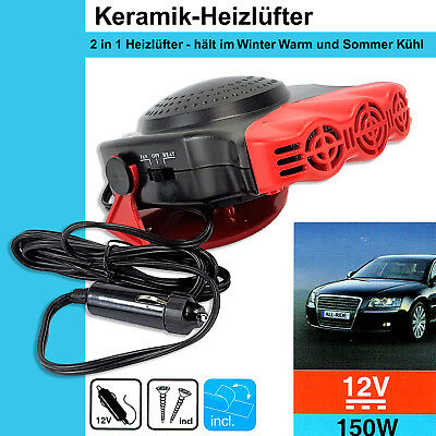 150W Auto KFZ Keramik Heizung Kühlung Ventilator Defroster Demister A41 24V