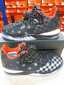Nike Air Jordan con borchie QUARANTA Basse Bg Scarpe da basket 833460 005 tennis