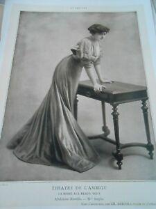 SincèRe Portrait Actrice Théatre Mlle Sergine La Mome Aux Beaux Yeux 1907 Acheter Un En Obtenir Un Gratuitement