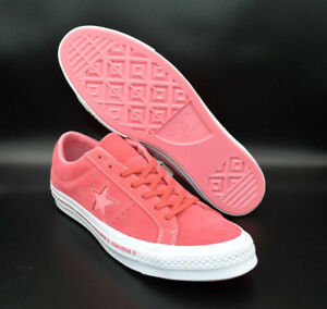 8bbb8738678a Converse One Star OX Pinstripe Paradise Pink Geranium Shoes  159815C ...
