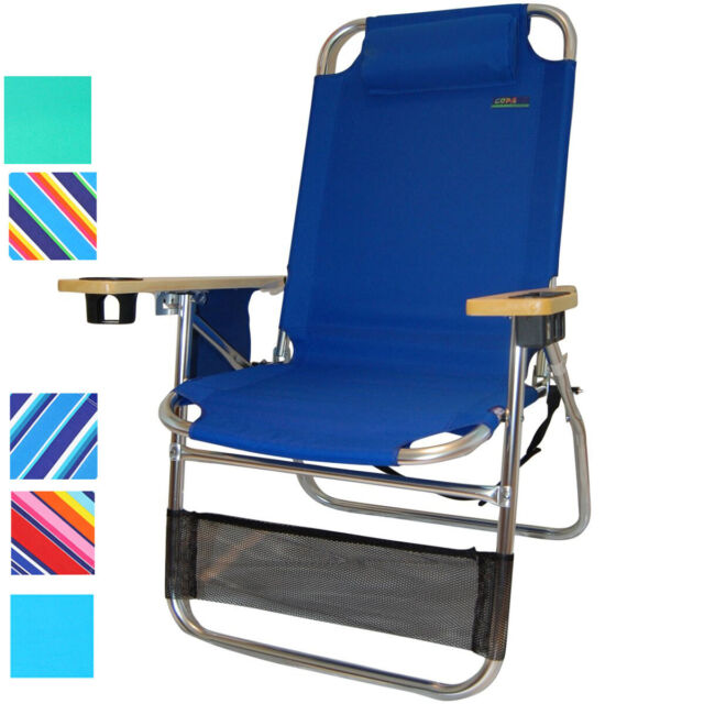 Cool Copa Big Papa 4 Position 17 Inch Seat Height Aluminum Beach Chair Heavy Duty Home Interior And Landscaping Ferensignezvosmurscom