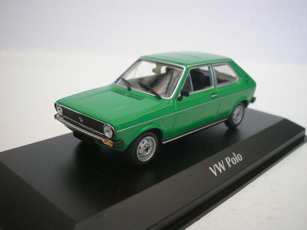 Web oficial VW Volkswagen Polo 1979 1979 1979 verde 1 43 Maxichamps 940050501 Nuevo  Garantía 100% de ajuste