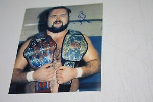 WWF-WWE-WCW-ARN-ANDERSON-SIGNED-8X10-PHOTO-THE-FOUR-HORSEMEN-W-TITLES